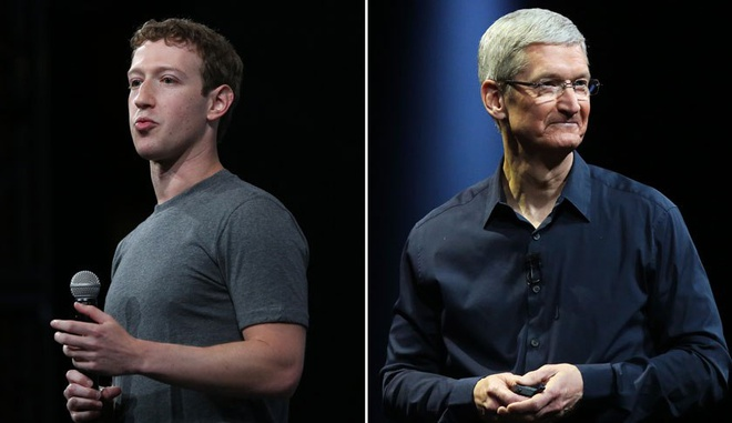 Phong cach doi lap cua Facebook va Apple hinh anh