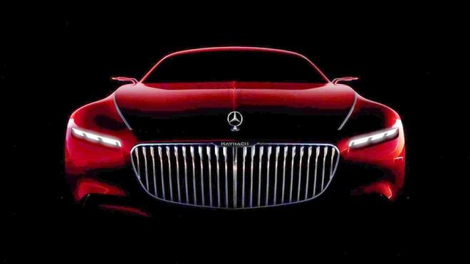 Xuat hien ban concept sieu pham Vision Mercedes-Maybach 6 hinh anh 1