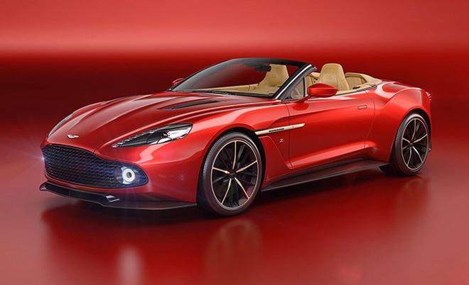 Aston Martin ra mat sieu xe Vanquish Zagato Volante hinh anh