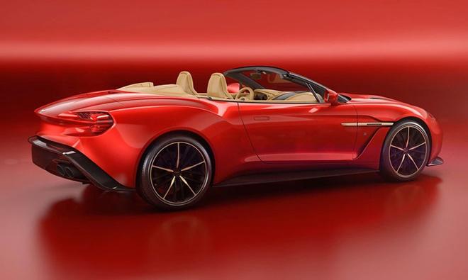 Aston Martin ra mat sieu xe Vanquish Zagato Volante hinh anh 1