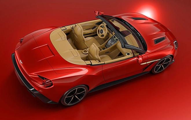 Aston Martin ra mat sieu xe Vanquish Zagato Volante hinh anh 2