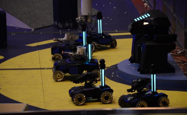 Giai dau robot quoc te o Trung Quoc co giai nhat 30.000 USD hinh anh
