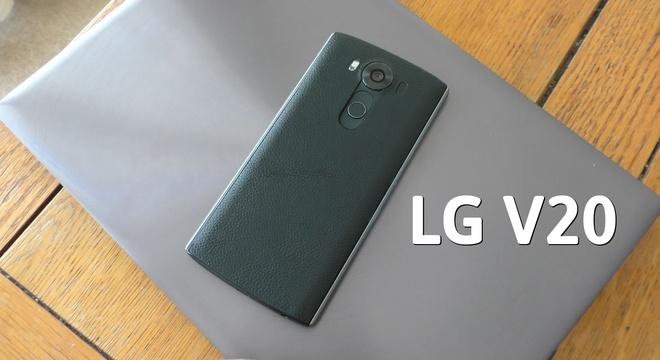 Gioi thieu LG V20 hinh anh