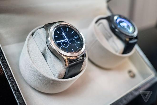 Samsung Gear S3 ra mat, day hon, them tinh nang hinh anh 1
