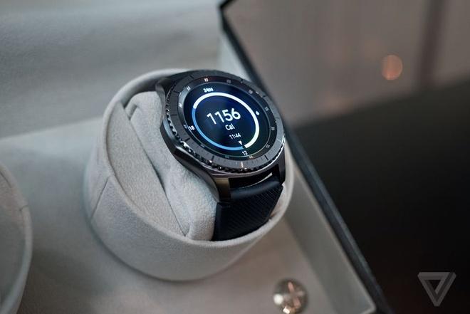 Samsung Gear S3 ra mat, day hon, them tinh nang hinh anh 2