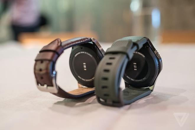 Samsung Gear S3 ra mat, day hon, them tinh nang hinh anh 4