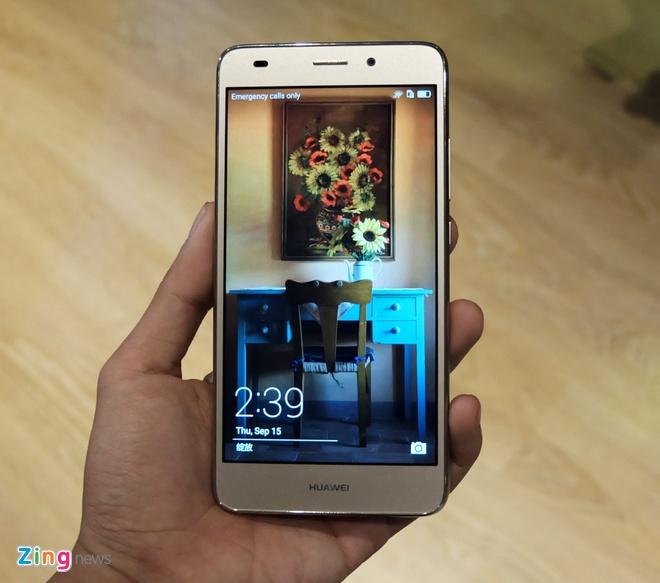 Huawei GR5 Mini ra mat, thiet ke kim loai, gia tu 4 trieu hinh anh 1
