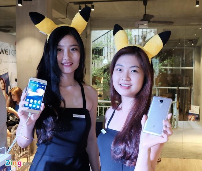Huawei GR5 Mini ra mat, thiet ke kim loai, gia tu 4 trieu hinh anh