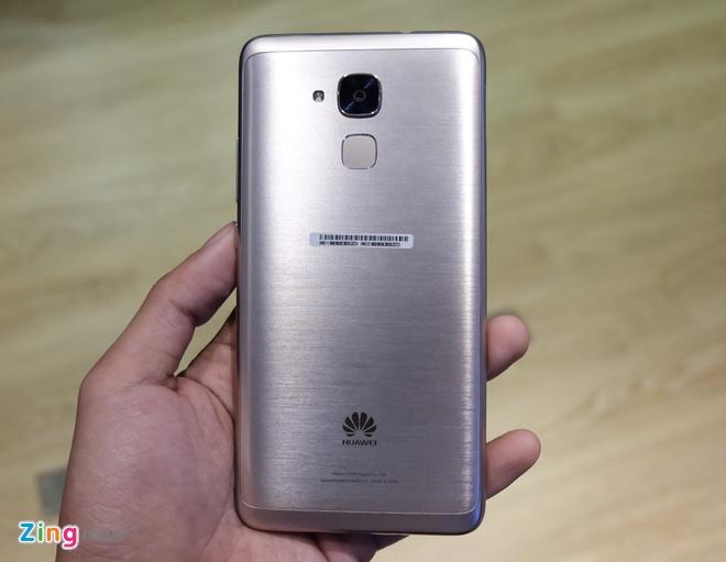 Huawei GR5 Mini ra mat, thiet ke kim loai, gia tu 4 trieu hinh anh 2