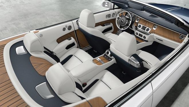 Rolls-Royce Nautical Dawn phong cach du thuyen la mat hinh anh 2