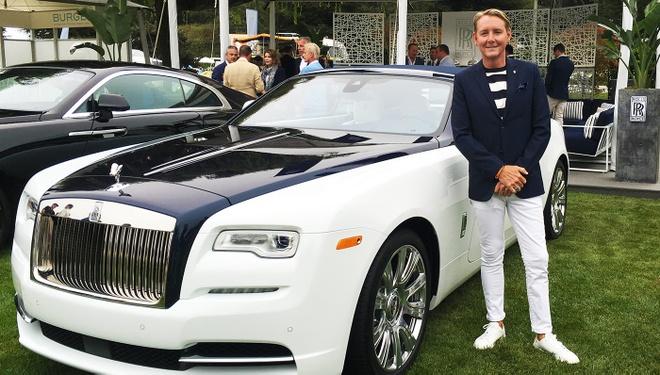 Rolls-Royce Nautical Dawn phong cach du thuyen la mat hinh anh
