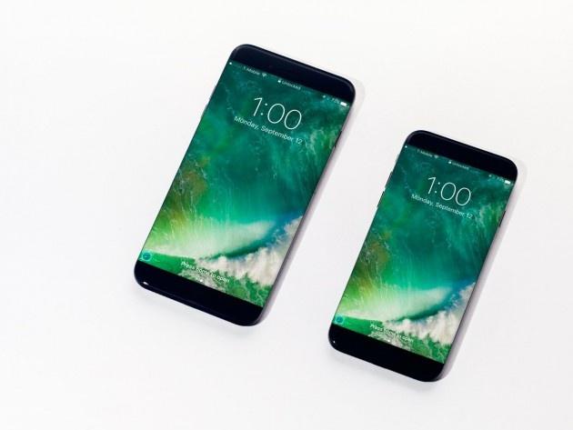 Y tuong iPhone 8 man hinh tran canh, sac khong day hinh anh 1