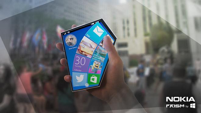 Concept smartphone Nokia hinh ngu giac hinh anh 4