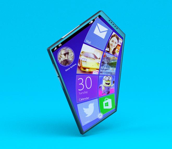 Concept smartphone Nokia hinh ngu giac hinh anh