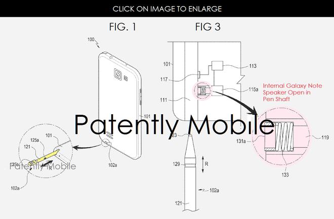 Samsung co the tich hop loa ngoai vao S Pen hinh anh 1