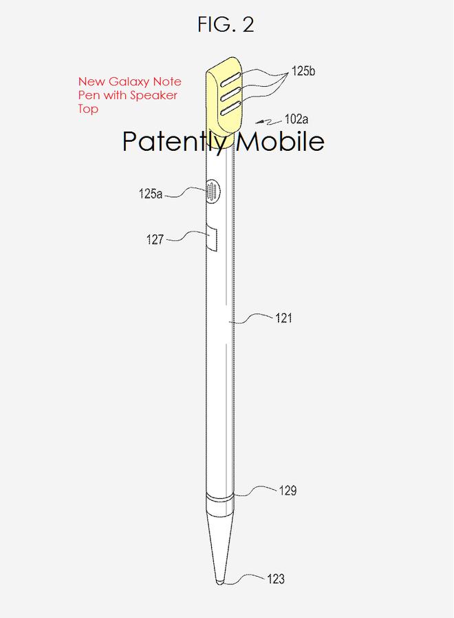 Samsung co the tich hop loa ngoai vao S Pen hinh anh 2