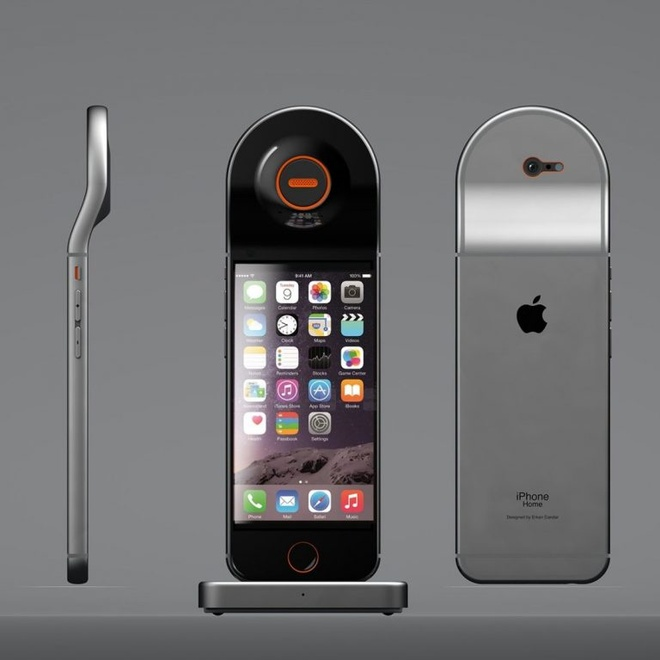 Y tuong iPhone lai dien thoai de ban hinh anh 3