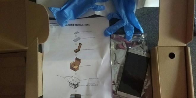 Samsung gui hop chong chay no cho nguoi dung tra lai Note 7 hinh anh