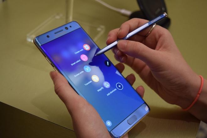 Samsung bo roi Note 7 anh 2