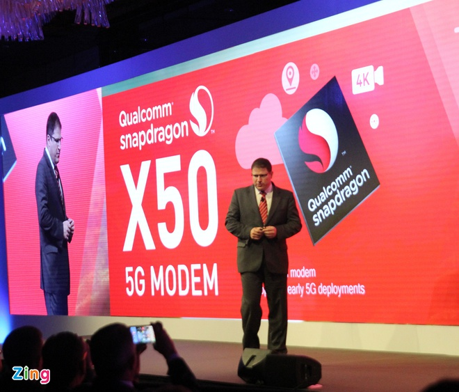 Qualcomm gioi thieu modem 5G dau tien tren the gioi hinh anh