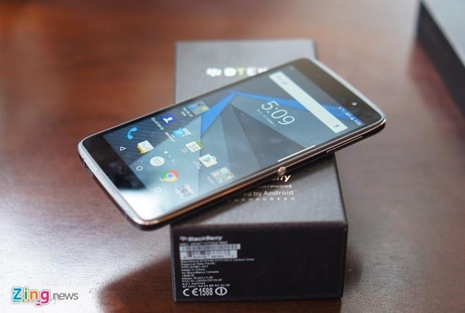 BlackBerry giam gia DTEK50, sap ban DTEK60 hinh anh 1