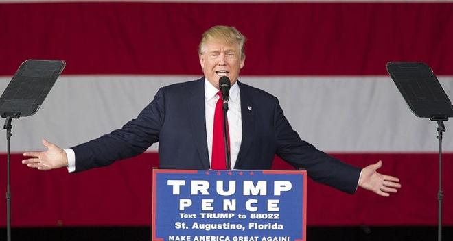 Donald Trump tuyen bo khong nhan luong tong thong hinh anh