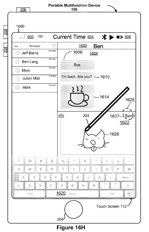 Apple Pencil tren iPhone 8 anh 3
