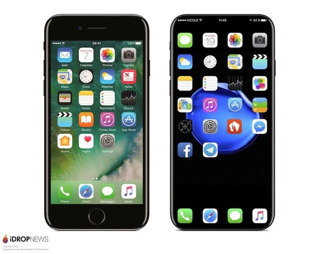 Xuat hien thiet ke iPhone 8 khong vien man hinh hinh anh 1