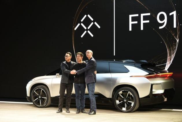 Faraday Future trinh lang xe tang toc nhanh nhat the gioi hinh anh 2