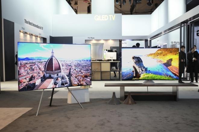 TV QLED Samsung 2017 ra mat anh 9