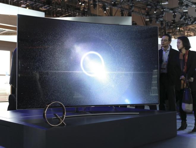 TV QLED Samsung 2017 ra mat anh 2