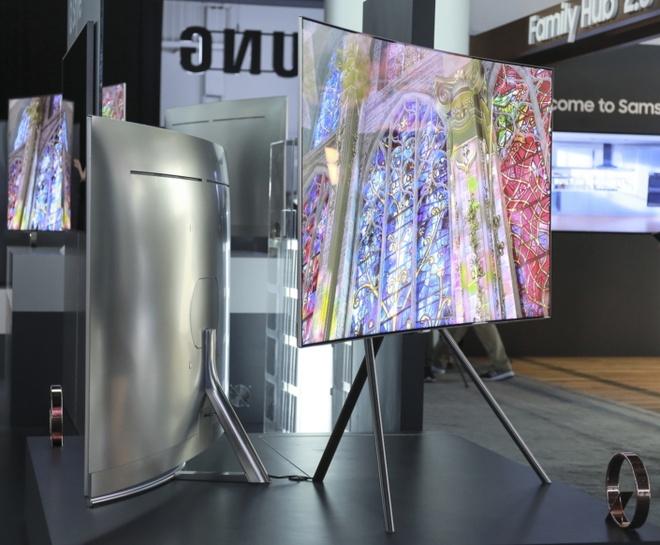 TV QLED Samsung 2017 ra mat anh 3