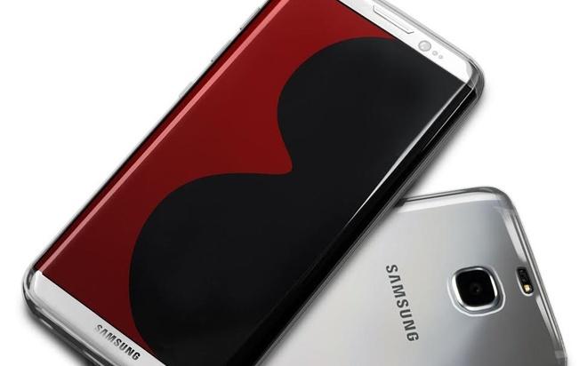 Nhieu anh ro ri Galaxy S8 lien tiep xuat hien hinh anh