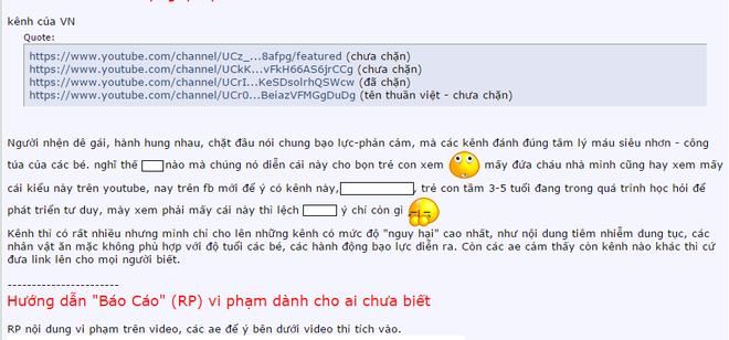 Cong dong mang phan no vi clip dung tuc cho tre em hinh anh 2