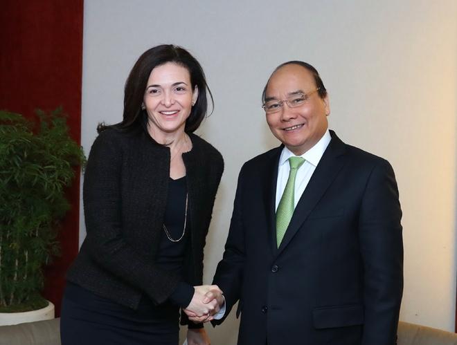 Thu tuong de nghi Facebook tang cuong hop tac o Viet Nam hinh anh 1