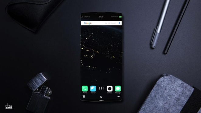 Ban thiet ke Oppo Find 9 vien canh, Snapdragon 835, RAM 6 GB hinh anh 1