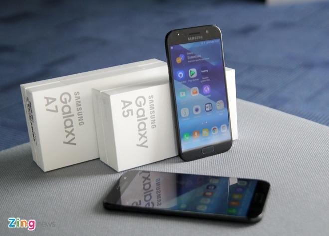 Mo hop Samsung Galaxy A5 va A7 2017 hinh anh 1