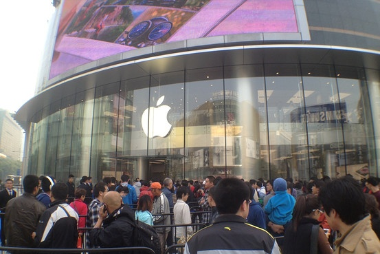 Apple, Samsung lep ve truoc thuong hieu Trung Quoc hinh anh