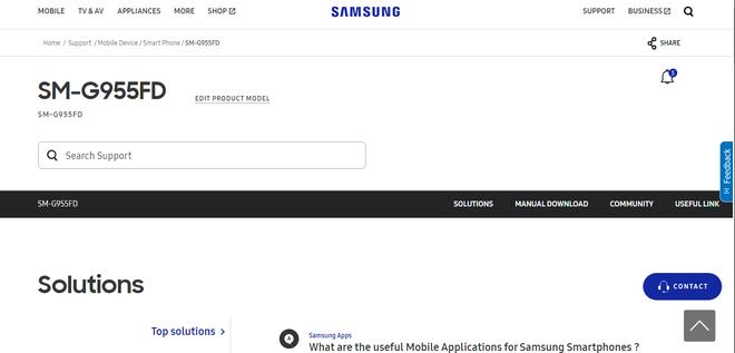 Samsung vo tinh xac nhan su co mat cua Galaxy S8 Plus hinh anh 1