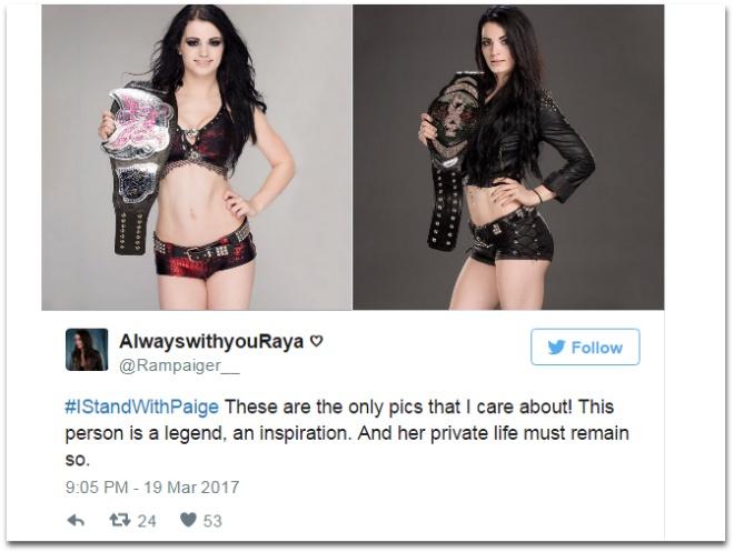 Fan len tieng bao ve sao WWE lo anh nong hinh anh 6