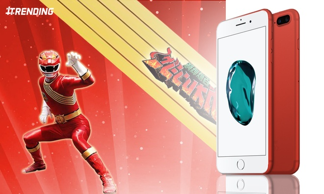 iPhone 7 Red tro thanh de tai che anh hinh anh 1