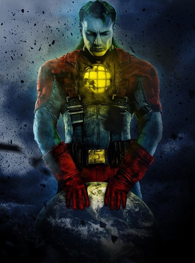 Bo anh cac sieu anh hung trong trang phuc Iron Man hinh anh 1