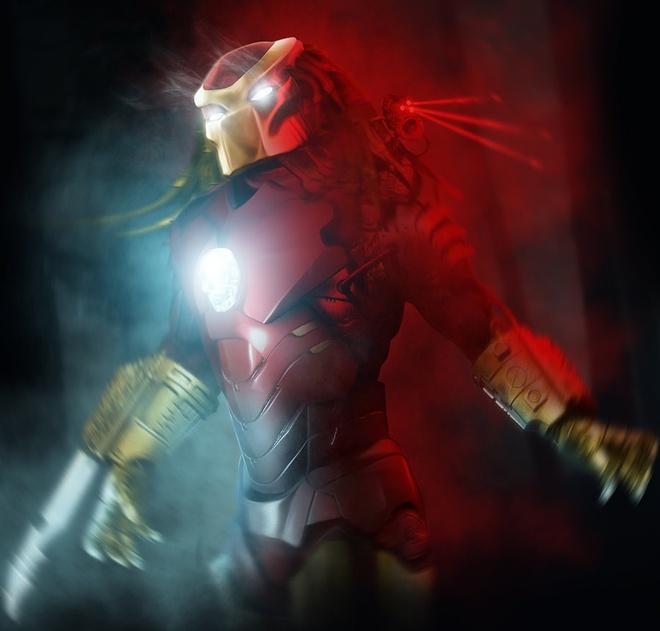 Bo anh cac sieu anh hung trong trang phuc Iron Man hinh anh 4