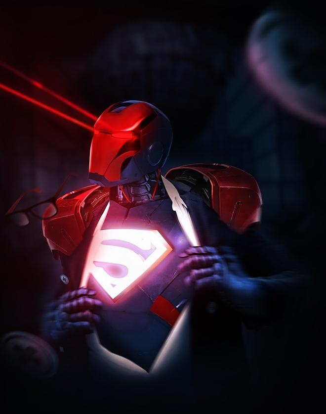 Bo anh cac sieu anh hung trong trang phuc Iron Man hinh anh 7