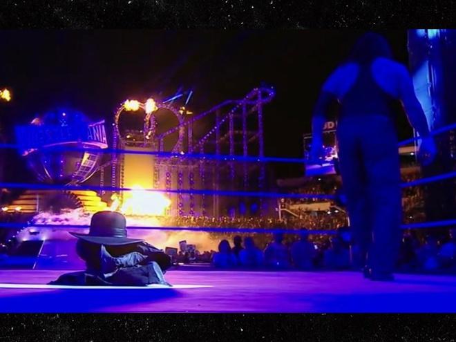 Huyen thoai WWE Undertaker giai nghe sau WrestleMania 33 hinh anh 1