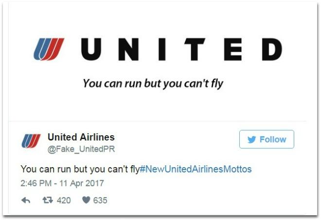 Cu dan mang mia mai United Airlines bang trao luu khau hieu che hinh anh 4