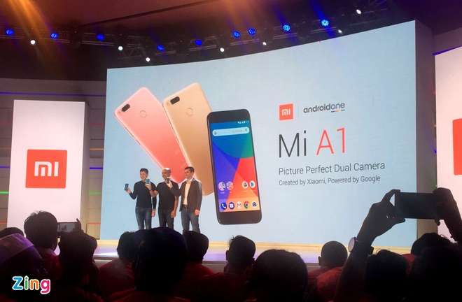 Xiaomi Mi A1 ra mat voi camera kep, chay Android One hinh anh 1