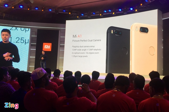 Xiaomi Mi A1 ra mat voi camera kep, chay Android One hinh anh 2