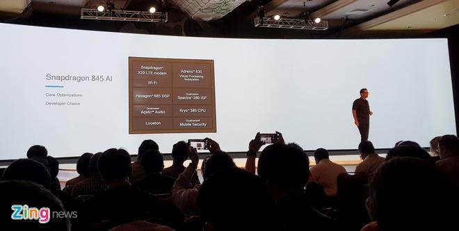 Qualcomm Snapdragon 845 ra mat, nhan manh camera va XR hinh anh 3