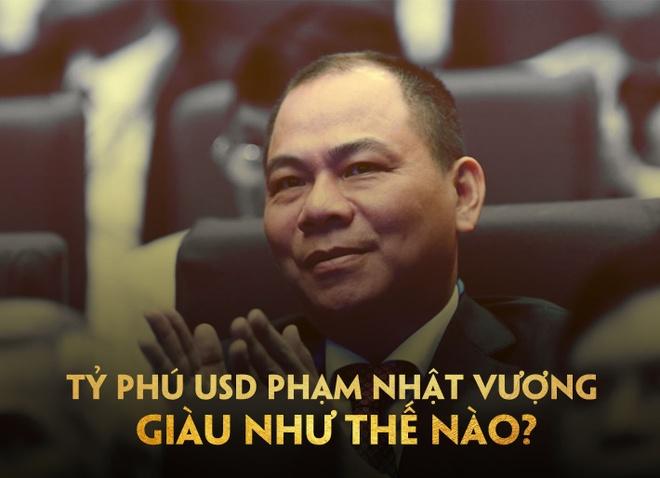 Cu mot phut, tai san cua ty phu Pham Nhat Vuong tang hon 4.500 USD hinh anh